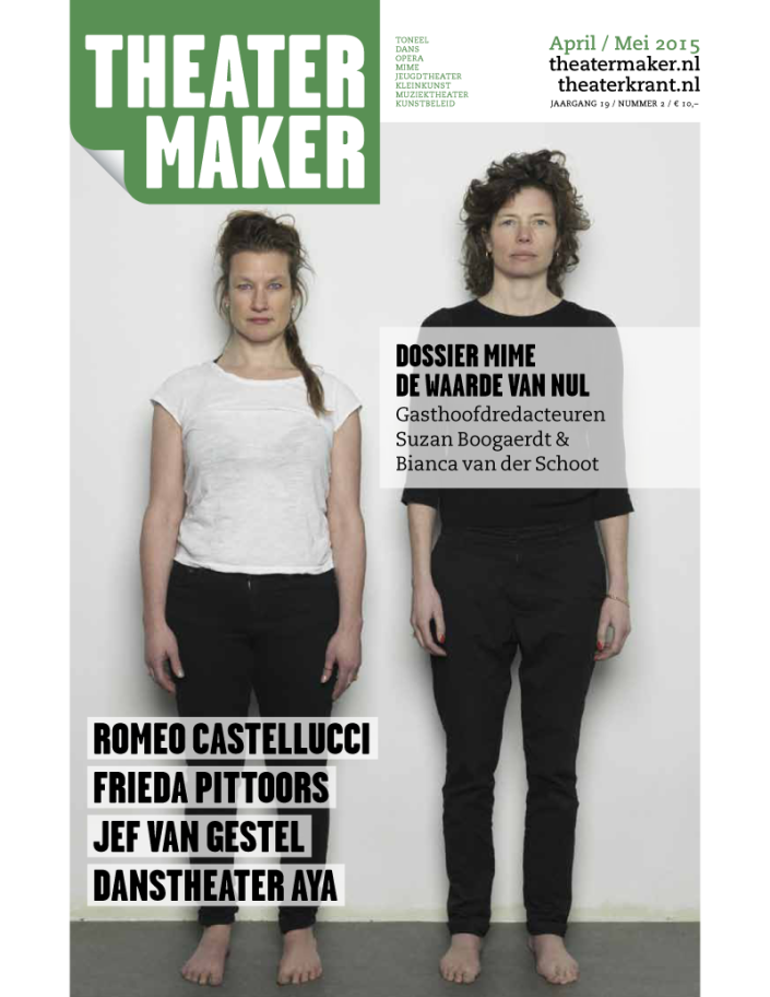 Theatermaker april-mei 2015
